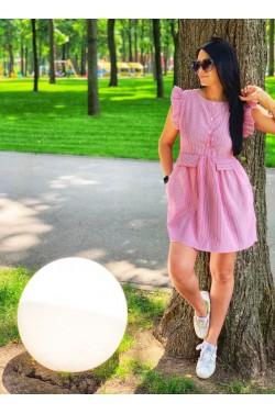 Размер: Единый (42-46)Цвет: Розовая полоска