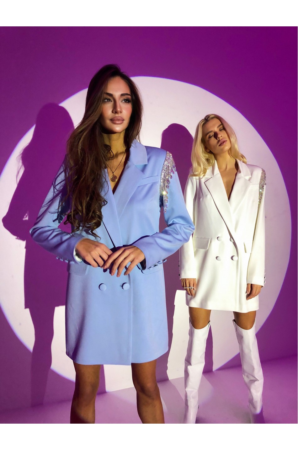 Пиджак- платье 407
