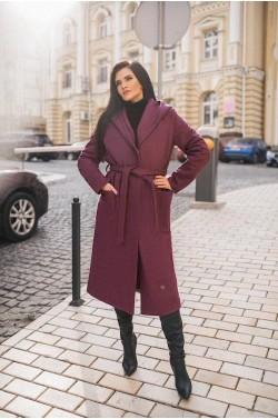 Пальто с капюшоном 185